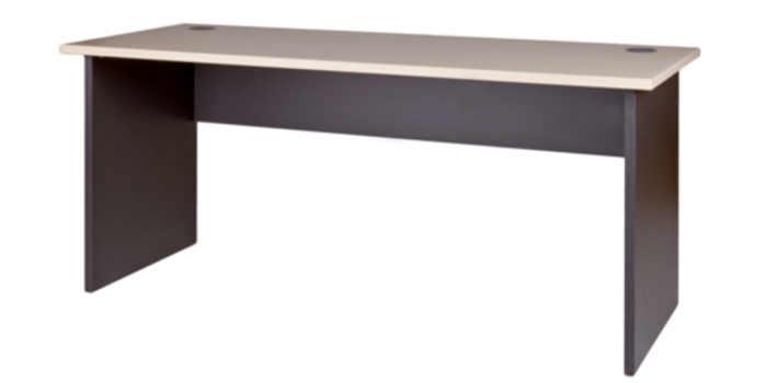 10004-0102 Desk 1700w x 700d x 725h Washed Maple Carbon