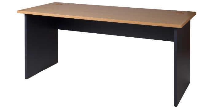 10004-0506 Desk 1700w x 700d x 725h NZ Tawa Char Blue