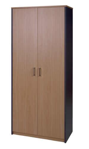 10029-0506 Storage Cupboard 1800h x 800w x 400d NZ Tawa Char Blue