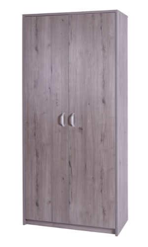 10029-10 Storage Cupboard 1800h x 800w x 400d Coronet Beech