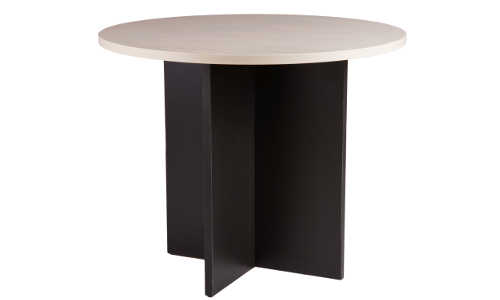 10030-0102 Meeting Table 900d x 725h Washed Maple Carbon