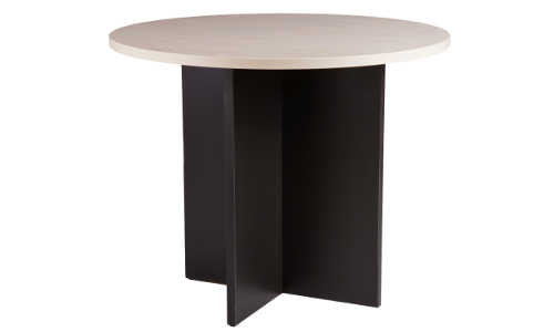 10031-0102 Meeting Table 1200d x 725h Washed Maple Carbon