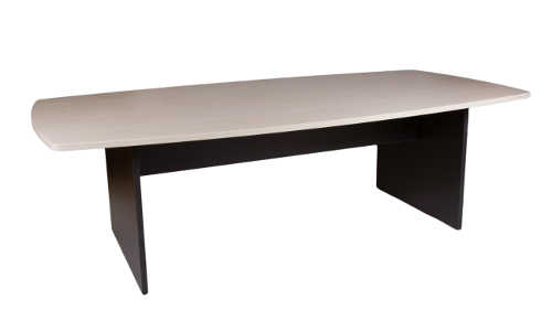 10032-0102 Boardroom Table 2400w x 1200d x 725h Washed Maple Carbon
