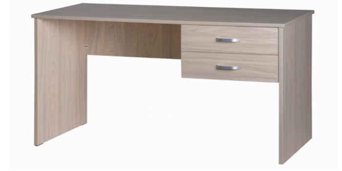 10033-11 2 Drawer Desk Coastal Elm