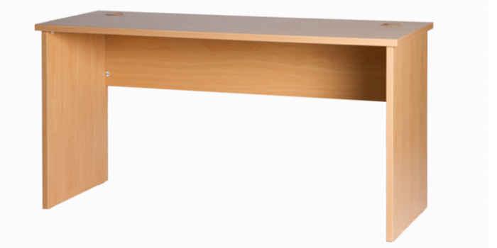 10039-05 Desk 1500w x 600d x 725h NZ Tawa