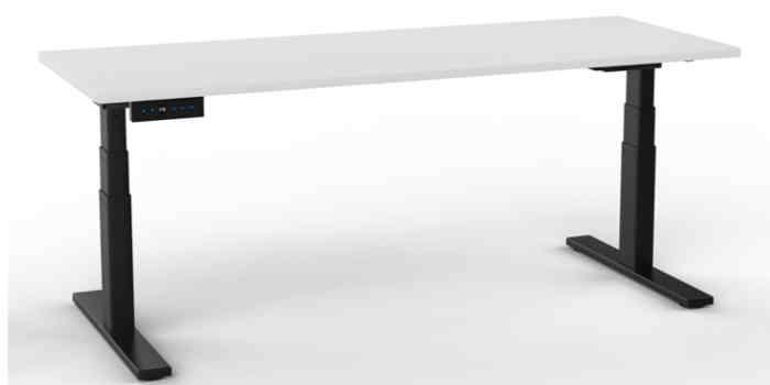 Electric Height Adjustable Desk - Black Frame