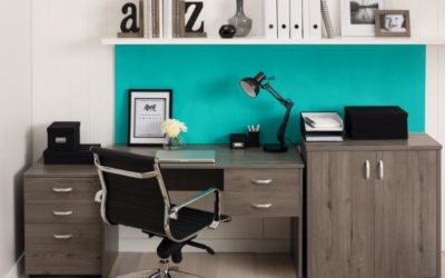 mature home office